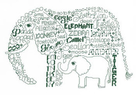 Let's Go To The Zoo cross stitch chart Imaginating - $5.40