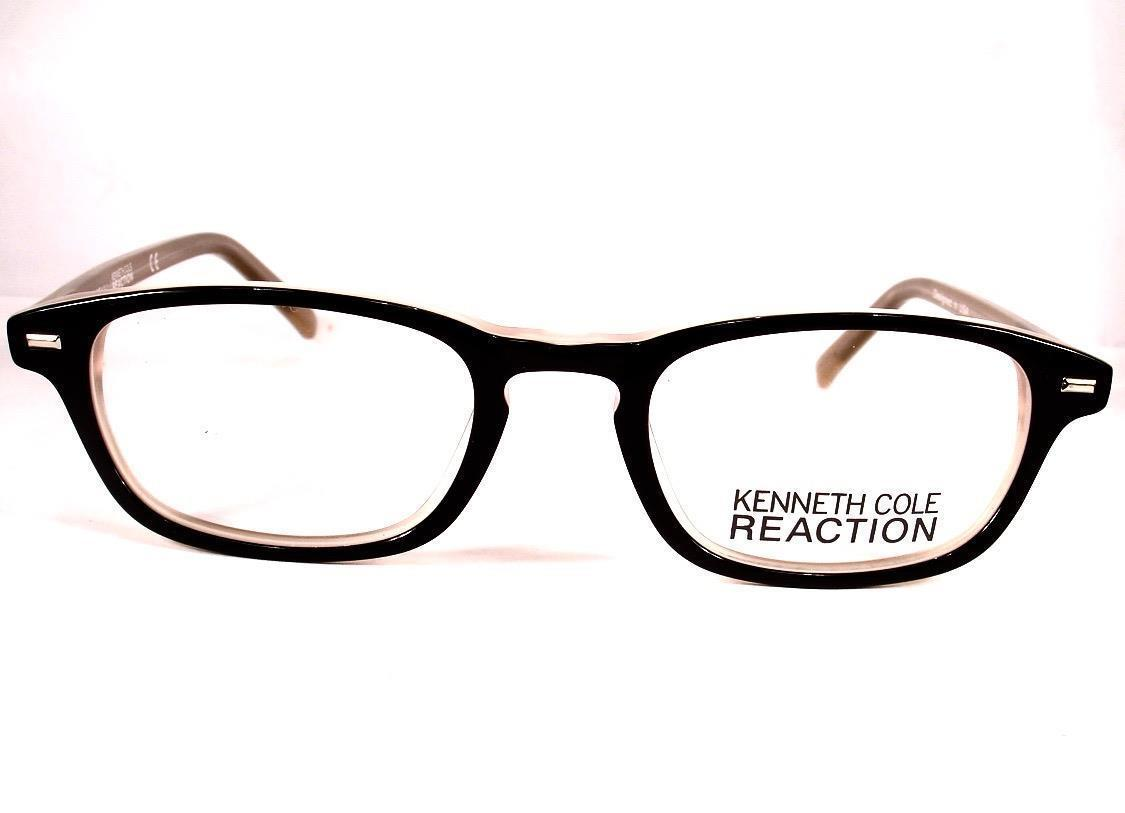 b91bad3fb78 Kenneth Cole Reaction Eyeglass KC 732 Black 003 Women Frames New 48-19-135