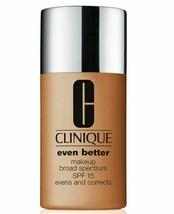 Clinique Even Better Broad Spectrum SPF15 Makeup Foundation Pecan 32 - $20.56