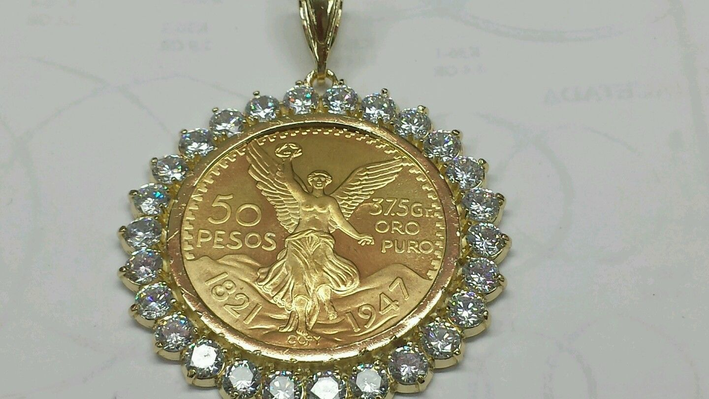 Primary image for Centenario 14k Gold plated ON SALE 2 for $55 This week  only