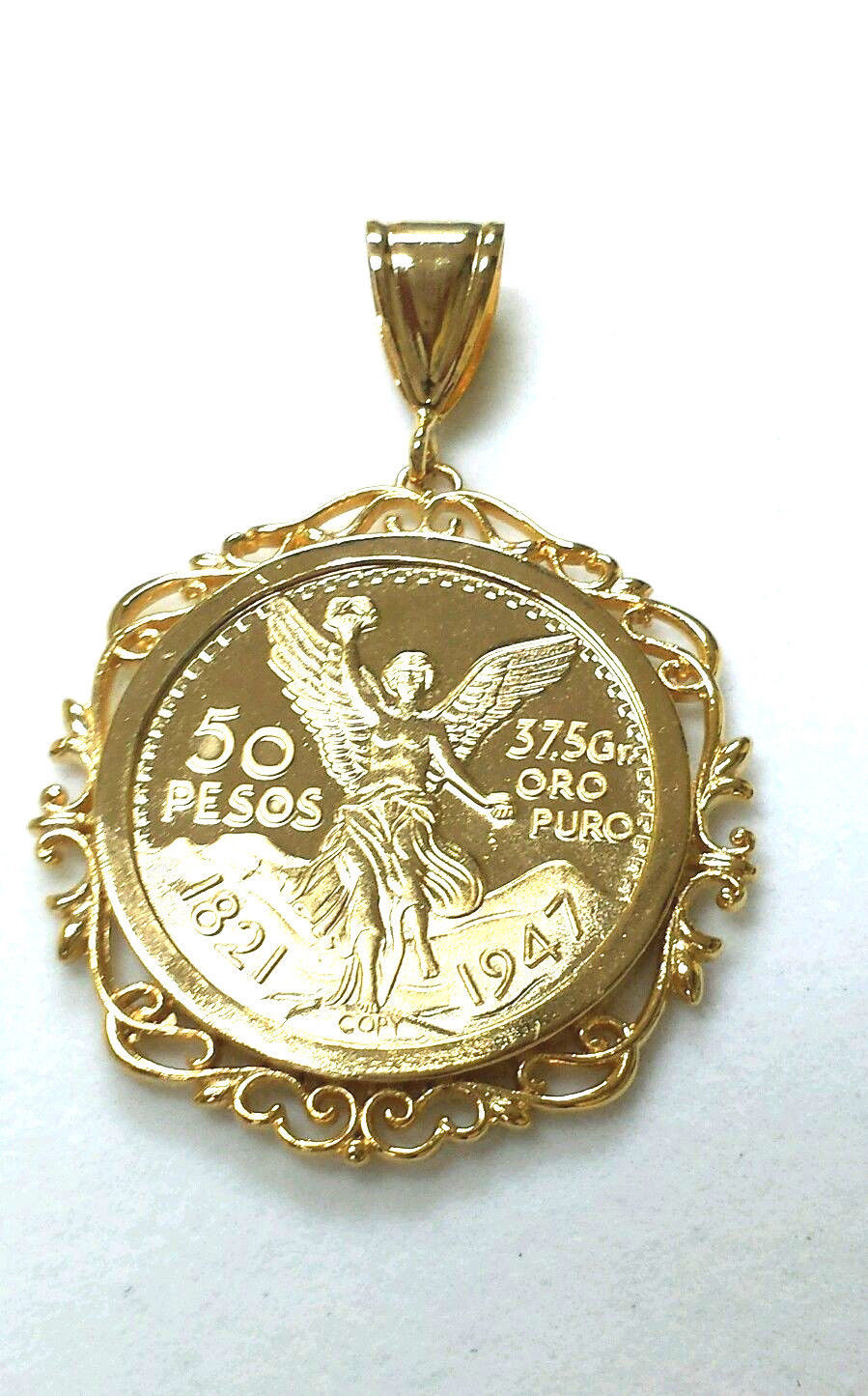 Primary image for Centenario 14k Gold plated  SPECIAL SALE THIS WEEK ONLY!! 2 for $45.00