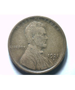 1921-S LINCOLN CENT PENNY EXTRA FINE XF EXTREME... - £31.06 GBP