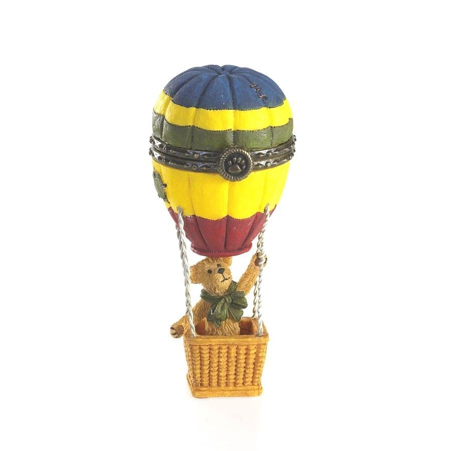"Primary image for Boyds Treasure Box ""Ellie's Up & Away Balloon w/Skye McBibble"" #4016642-1E-  NIB"