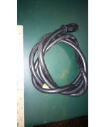 6FF45 LEAD CORD, 14/3 120V, 6' LONG, HEAVY DUTY, GOOD CONDITION - $13.66
