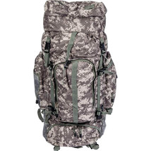 "34"" Large Digital Camo Water Resistant Mountaineer Backpack Bug Out Bag ... - $56.89"