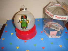 1984 Norman Rockwell Limited Edition Merrie Christmas Ornament - $13.49