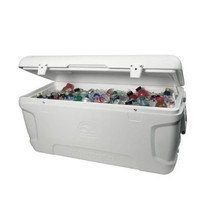 Large Igloo Cooler Ice Chest 150 Qt Max Insulated Camping Beach Fishing ... - $269.99
