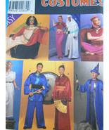 Simplicity 8311 Adult Costume Pattern Kimono Genie Wizard Cleopatra S M ... - $7.56