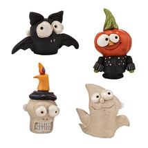 Enesco Dep 56 Pumpkinseeds Bat Pumpkin Skull Gh... - $19.15
