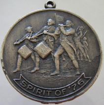 SPIRIT OF 76 MEDAL Patriotic Bicentennial United States 1976 Liberty Bel... - $14.99