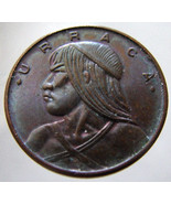 1979 PANAMA URRACA COIN over 30 Years Old Panamanian cent centismo Bronz... - $4.99