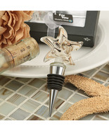 1 Murano Starfish Swirl Art Design Wine Bottle Stopper Wedding Favor Gif... - $3.42