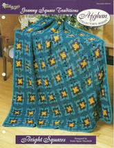 Needlecraft Shop Crochet Pattern 962310 Bright Squares Afghan Collectors... - $4.99