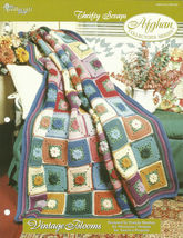 Needlecraft Shop Crochet Pattern 962300 Vintage Blooms Afghan Collectors... - $4.99