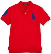 Ralph Lauren Baby Boys' Big Pony Short Sleeve Cotton Mesh Polo Shirt 9M - $29.99