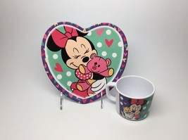 Minnie Mouse Plate & Cup Set Brand New1 - $9.95