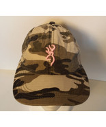 Browning Camouflage Pink Logo Hat - $9.89