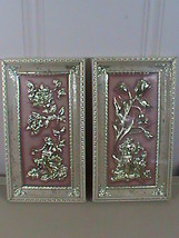 Set of 2 Vintage Cherub Wall Art Intercraft Industries 5901-95 - $39.59