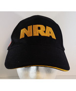 NRA National Rifle Association American Flag Adjustable Hat Black - $9.89
