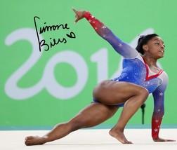 * Simone Biles Gymnastic Signed Photo 8 X10 Rp Autographed 2016 Olympics * Rio - $19.99