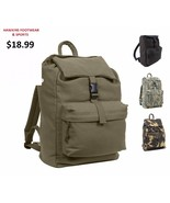 Water Resistant Heavy Canvas Daypack - $18.99