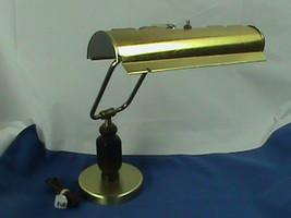 Brass Bankers Lamp Adjustable Piano Lamp Student Desk Lamp - $19.79