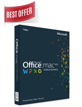 Office for MAC 2011 Home & Business License Key... - $41.90