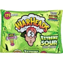 Extreme Sour Warheads Candy 175 Count Black Che... - $12.73