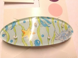 Gymboree Girl Splash Line Sea Barrette/Clip NWT Snap Turtle Summer Star Fish Cut - $14.95
