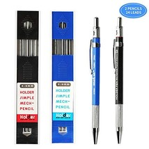 Green Convenience 2 Pieces 2.0mm Mechanical Pencils, High-End (Blue and ... - $11.59