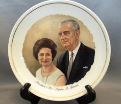 Vintage Lyndon Johnson & Lady Bird Collector Plate (Mid 60's) - $6.99