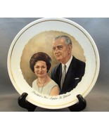 Vintage Lyndon Johnson & Lady Bird Collector Plate (Mid 60's) - $6.99