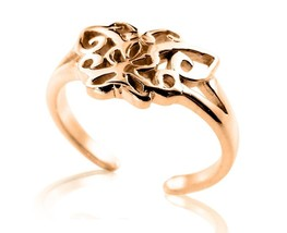 10 K Solid Yellow Gold Celtic Butterfly Toe Ring - $79.00