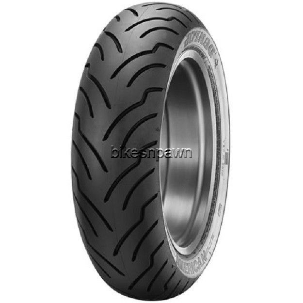 New Dunlop American Elite Blackwall 180/65B-16 Rear Tire