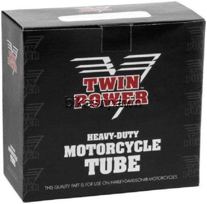 New Heavy Duty Twin Power 3.75/4.25 - 18 TR13 Center Motorcycle Tire Tube 051846