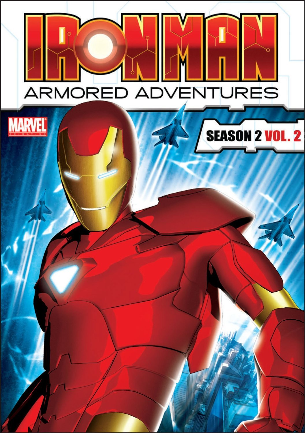 Iron Man: Armored Adventures - Season 2, Vol. 2 (DVD, 2012)