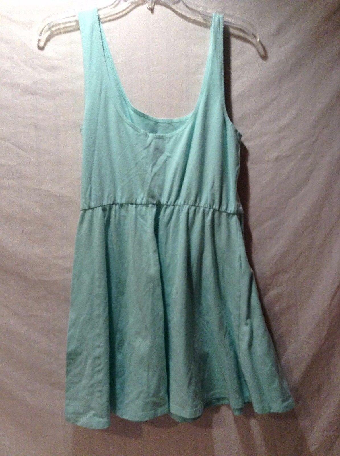 Women's Used Great Condition Charlotte Russe Seafoam Spandex Cotton Dress Size L