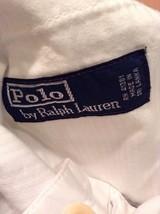 Men's White Polo Ralph Lauren Shorts Good Condition Size 36 image 2
