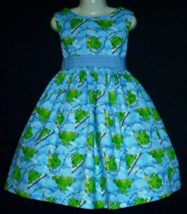 NEW Handmade Back To School Leap Into Learning Jumper Dress Custom Sz 12M-14Yrs - $49.98
