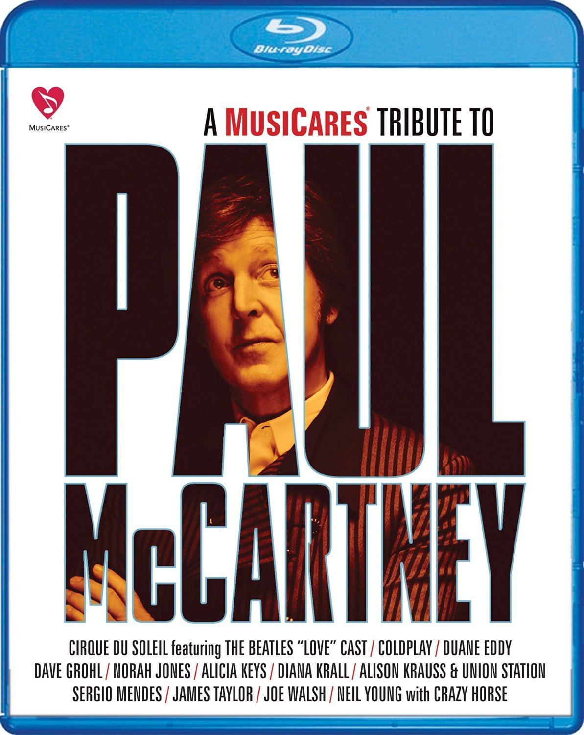 A MusiCares Tribute to Paul McCartney (Blu-ray, 2015)