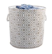 Bintopia Collapsible Laundry Hamper Moroccan Taupe - $22.98