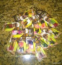 LOT OF THIRTEEN  Dancin' Crappie Tube Jig 4 pack - $18.00