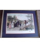 Sunday Morning In Sleepy Hollow - Jeannie Brownscombe - After Etching by... - $80.00