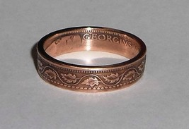 Coin Ring handmade from 100 year old Canadian large cent size 6-13 - $19.99