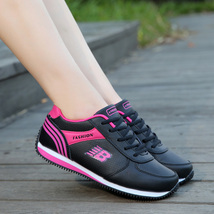 pa012 Spell color sports shoes for lady, size 33-40, black/red - $39.90