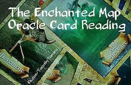 Oracle Card Reading: The Enchanted Map Deck ; 3... - $7.38