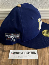 Los Angeles Dodgers 59FIFTY Gold Series Fitted Hat 2020 World Champs Size 8 - $44.95