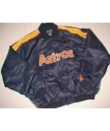 Houston Astros MLB NL AL Cooperstown Collection Rainbow Nylon Button Jac... - $123.75