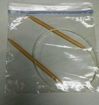Takumi Circular Knitting Needle 29 inch measured tip to tip 10.5 US 6.5m... - $9.99