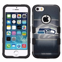 for Apple iPhone 5 5S Armor Impact Hybrid Cover Case Seattle Seahawks #BG - $18.65